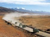 """西藏军区某旅:高原运输线建强""""战斗堡垒"""""""