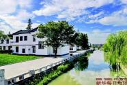 一条小河治理撬动的美丽乡村建设