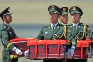 第六批在韩中国人民志愿军烈士遗骸回国