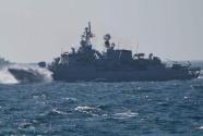 土耳其海军举行大规模演习