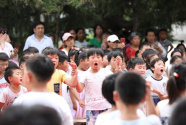 新丝路模特来到河南虞城 为孩子们做了这件事