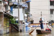 洪水来时,那暖心的民间救援