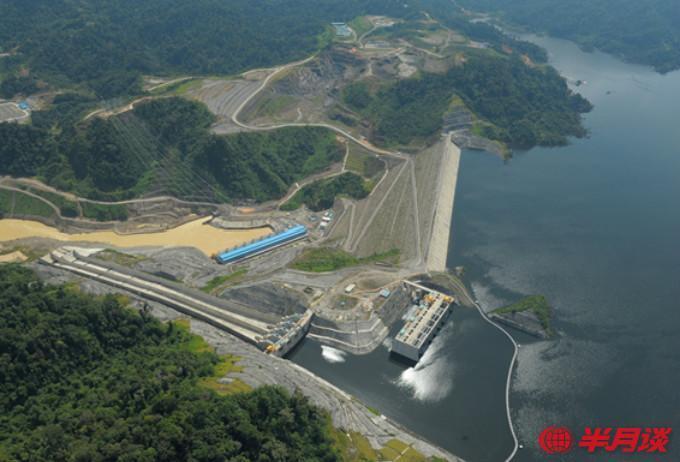 新华社照片,马来西亚巴贡水电站(照片由中国电建提供)