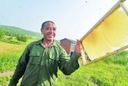 呼倫貝爾農墾蜜源蜂業在扎蘭河農場動工
