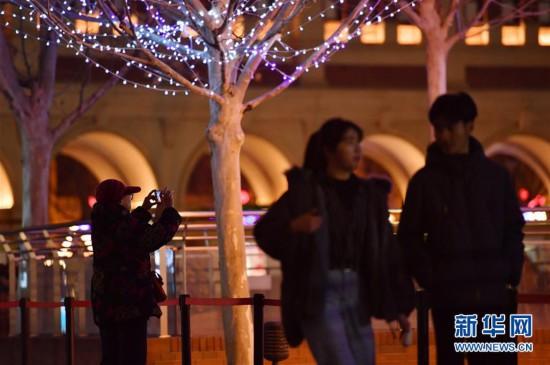 (社会)(2)天津:冬夜民园