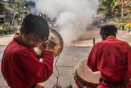 """不变的""""中国心""""——印度加尔各答华人迎新年"""