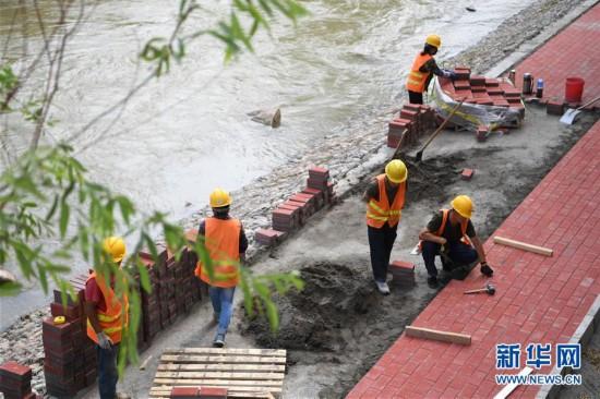 (社会)(3)黄河兰州段20公里健身步道循环圈即将建成投用
