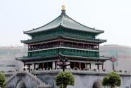 600多岁的西安钟楼修缮后重新开放